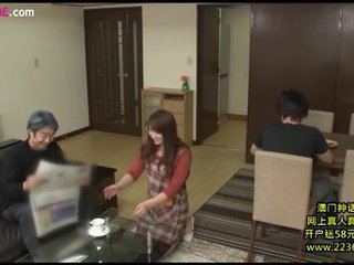 Japanese mature wife seduces father in law and - XVideos